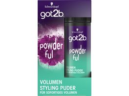 Schwarzkopf got2b Styling Powder Powder ful Volumen