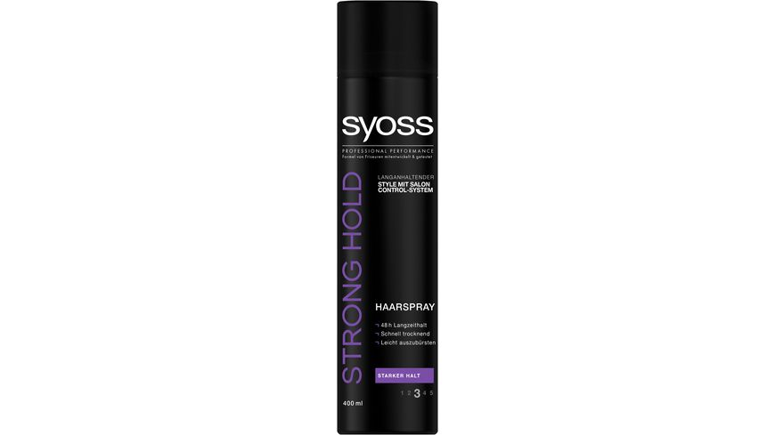 syoss Strong Hold Haarspray