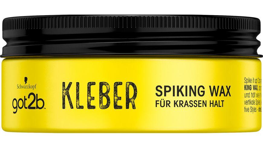 Schwarzkopf got2b Spiking Wax Kleber