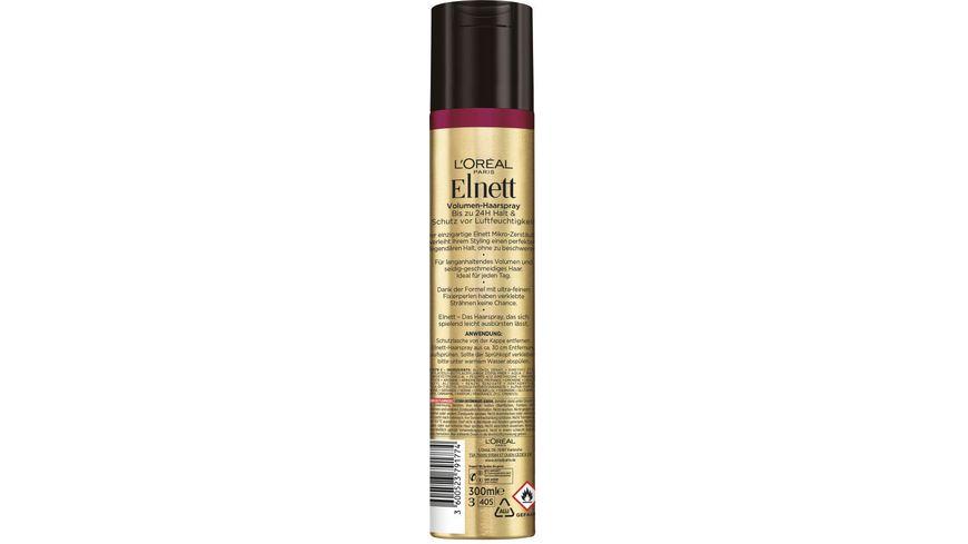 L OREAL PARIS Elnett Haarspray De Luxe extra Volumen extra starker Halt