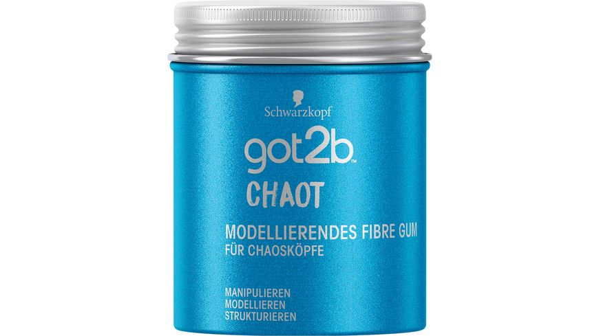 Schwarzkopf got2b Fibre Gum Chaot modellierend