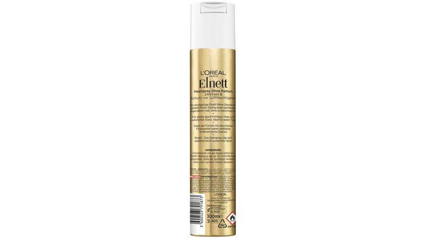 L OREAL PARIS Elnett Haarspray De Luxe Duftneutral extra Halt
