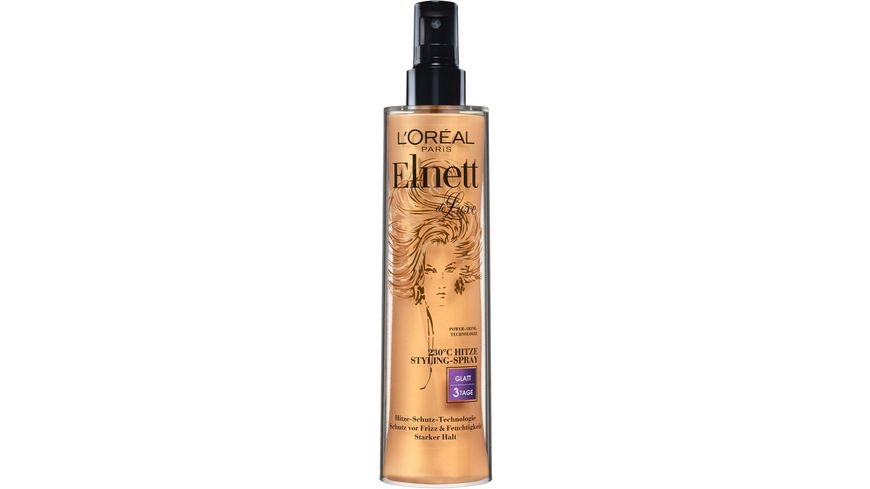 L OREAL PARIS Elnett Pumpspray Hitzeschutz starker Halt