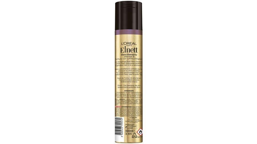 L OREAL PARIS Elnett Haarspray De Luxe Leuchtkraft