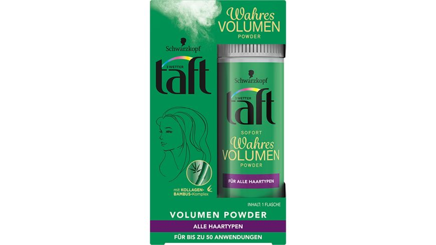3 WETTER TAFT Powder Volumen Sofort Volumen