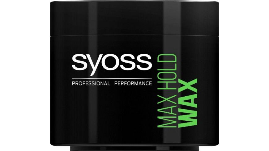 syoss Max Hold Power Wax