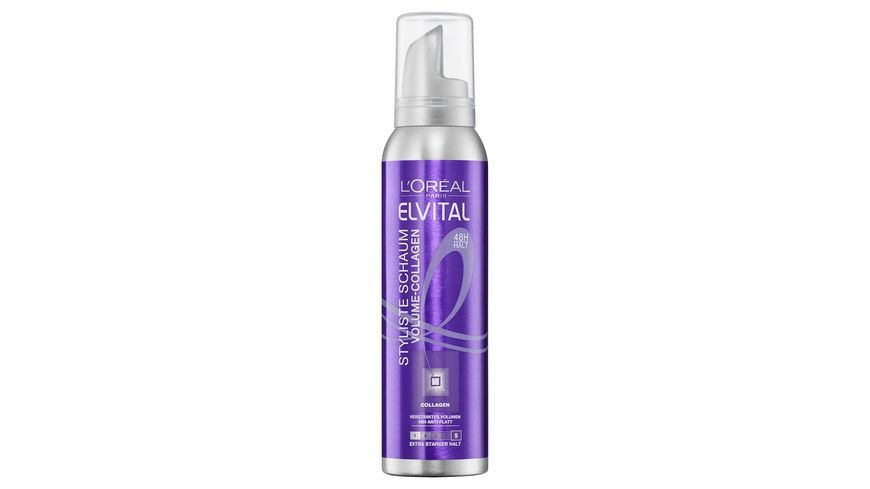 L OREAL PARIS ELVITAL Styliste Schaum Volumen Collagen