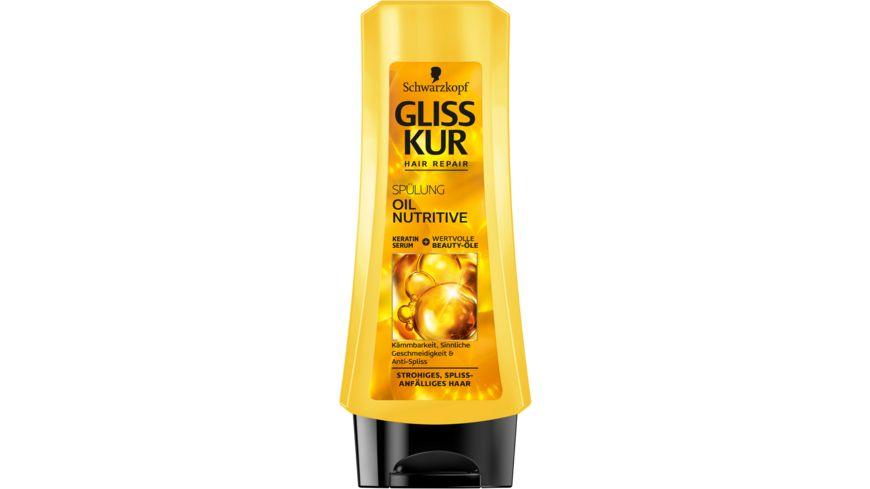 Schwarzkopf GLISS KUR Spuelung Oil Nutrive