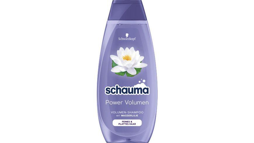 schauma Shampoo Aufpolsternd Power Volumen 48h