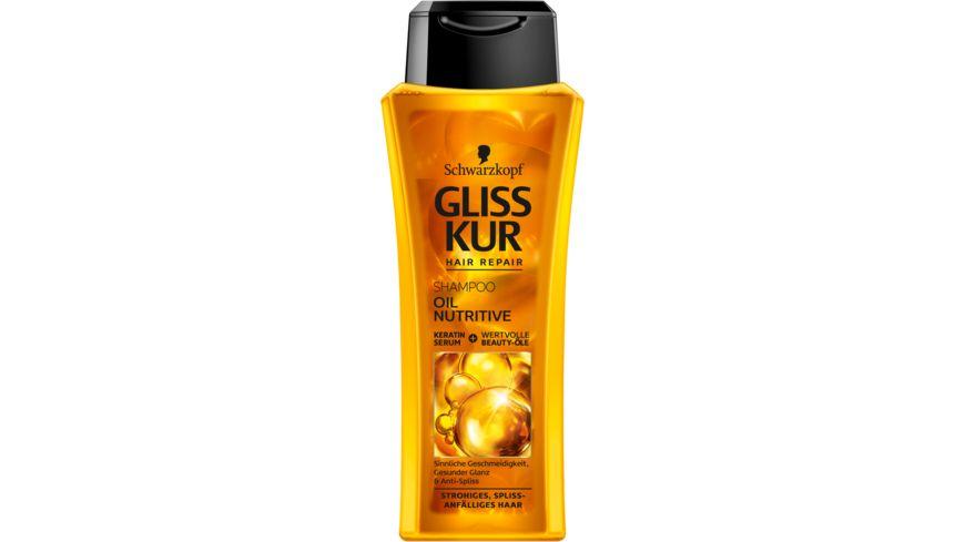 Schwarzkopf Gliss Kur Shampoo Oil Nutrive Online Bestellen Müller