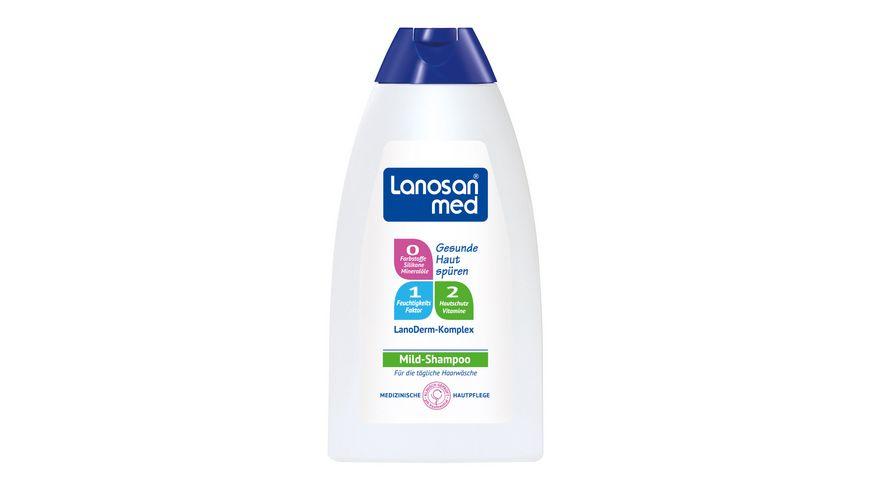 Lanosan med Shampoo mild
