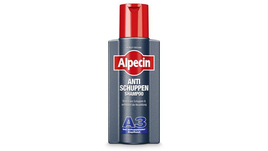 Alpecin Anti Schuppen Shampoo Aktiv A3