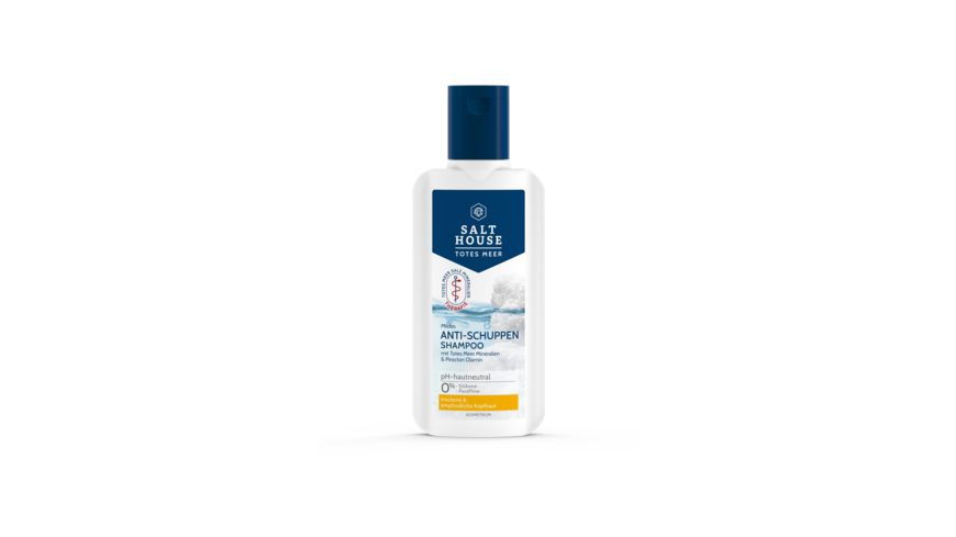 SALTHOUSE Totes Meer Therapie Shampoo Anti Schuppen