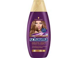 schauma Shampoo Aufbau Keratin Kraft