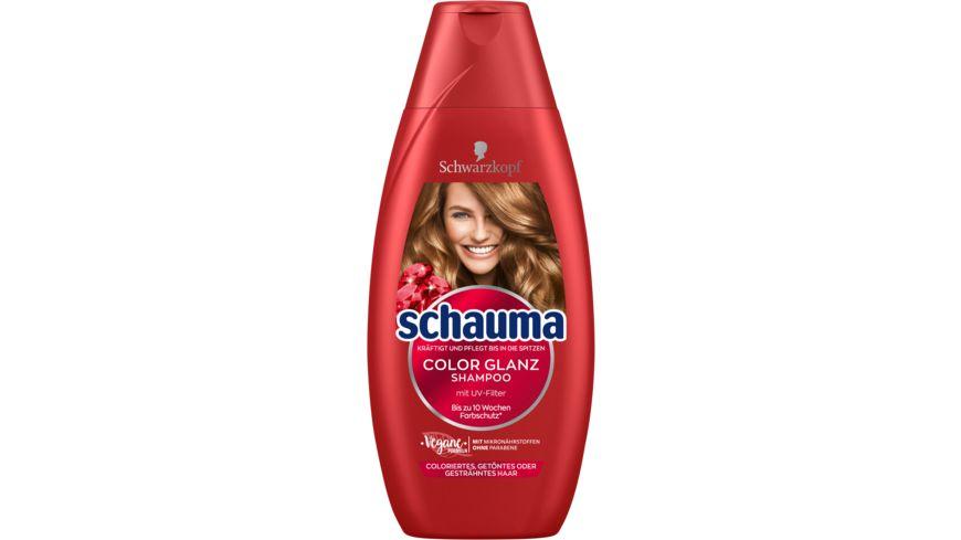 schauma Shampoo Farbschutz Color Glanz