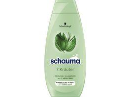 Schauma Shampoo 7 Kraeuter fuer Frische und Volumen vegane Formel ohne Silikone