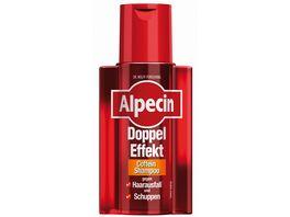 Alpecin Coffein Shampoo Doppel Effekt gegen Schuppen und Haarausfall