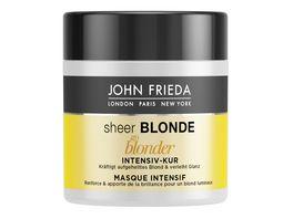 JOHN FRIEDA sheer BLONDE Intensivkur Go Blonder