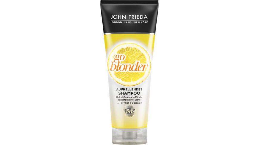 JOHN FRIEDA sheer BLONDE Shampoo aufhellend Go Blonder