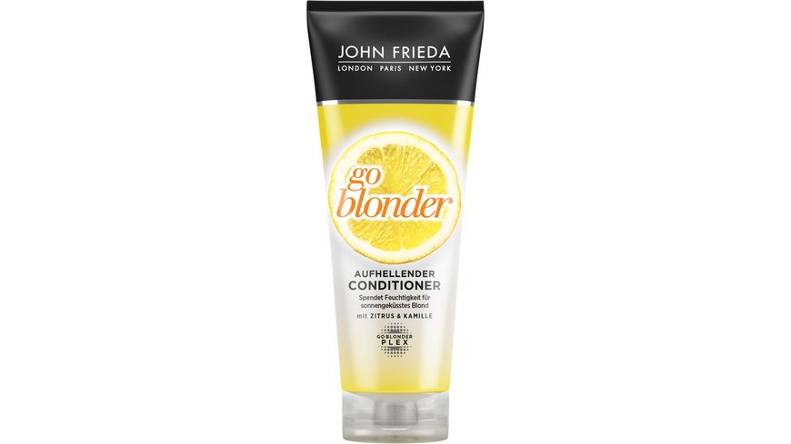 JOHN FRIEDA sheer BLONDE Conditioner aufhellend Go Blonder