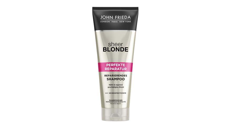 JOHN FRIEDA Sheer Blonde Perfekte Reparatur Reparierendes Shampoo