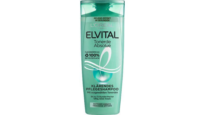 L OREAL PARIS ELVITAL Shampoo Tonerde Fats