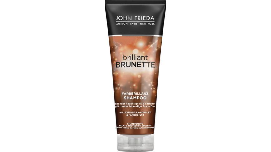 JOHN FRIEDA brilliant BRUNETTE Shampoo Colour Protection Multidimensional Tones