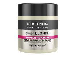 JOHN FRIEDA Sheer Blonde Perfekte Reparatur Reparierende Intensiv Kur