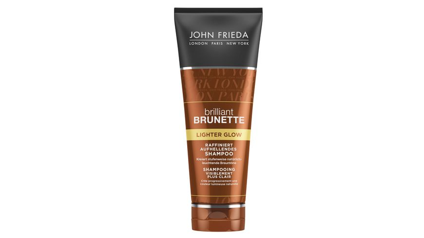 JOHN FRIEDA brilliant BRUNETTE Shampoo aufhellend Lighter Glow