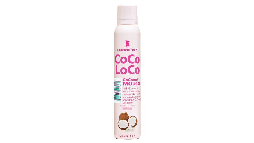 Lee Stafford Mousse Coco Loco Coconut