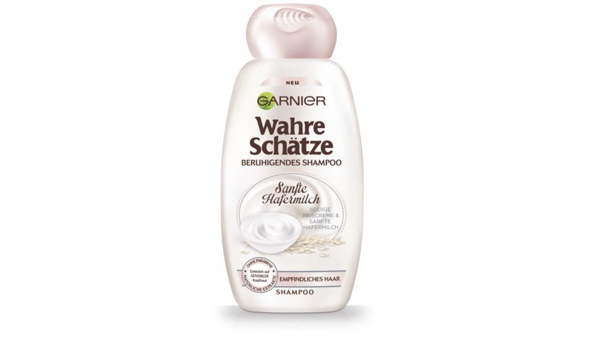 GARNIER Wahre Schaetze Shampoo Hafermilch Beruhigend