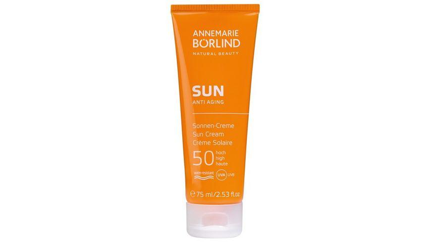 ANNEMARIE BOeRLIND Anti Aging Sonnen Creme LSF 50