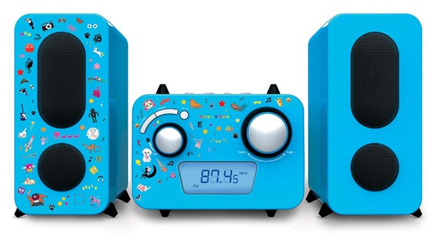 Stereo Music Center MCD11 Kids blue