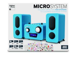 BIGBEN Stereo Music Center MCD11 Kids blue