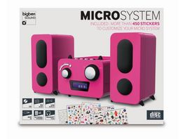 BIGBEN Stereo Music Center MCD11 Kids pink