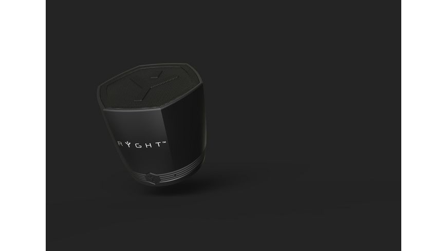Ryght Exago Bluetooth Speaker schwarz