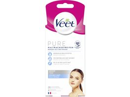 Veet Gesicht Praezisionskaltwachsstreifen Easy Gelwax Technology fuer sensible Haut
