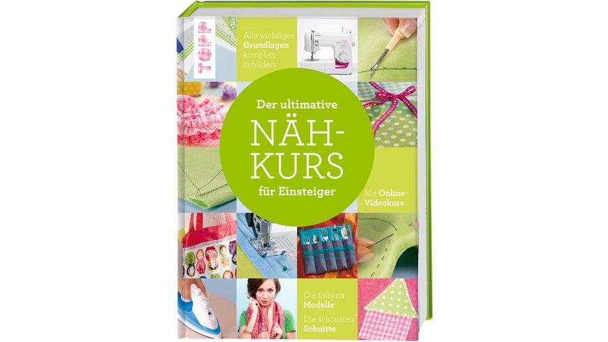 Buch frechverlag Der ultimative NAeHKURS fuer Einsteiger