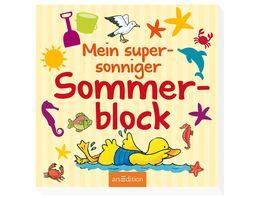 Buch Ars edition Mein supersonniger Sommerblock