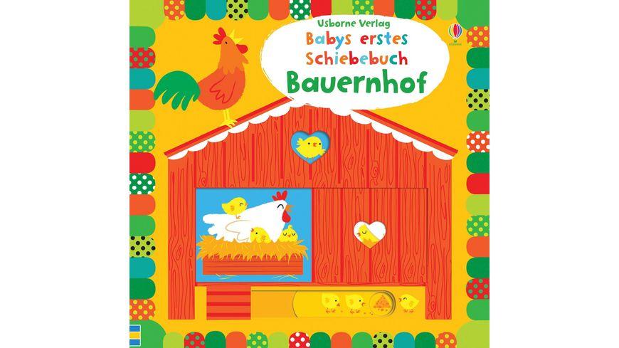Babys erstes Schiebebuch Bauernhof