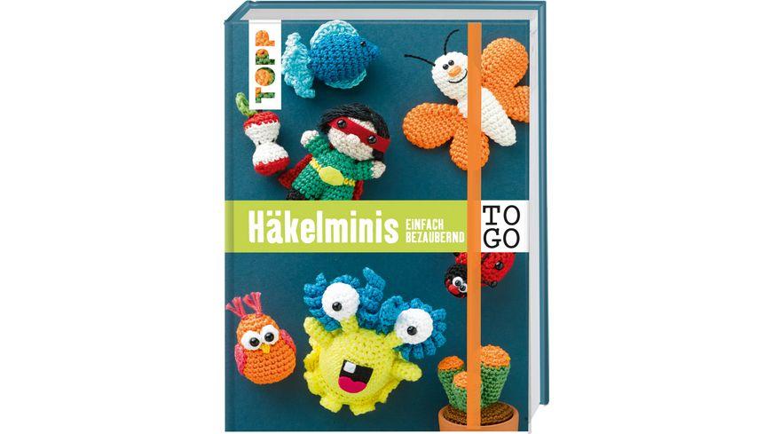 Buch frechverlag Haekeln to go Haekelminis