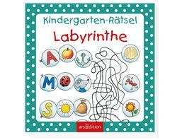 Buch Ars edition Kindergarten Raetsel Labyrinthe