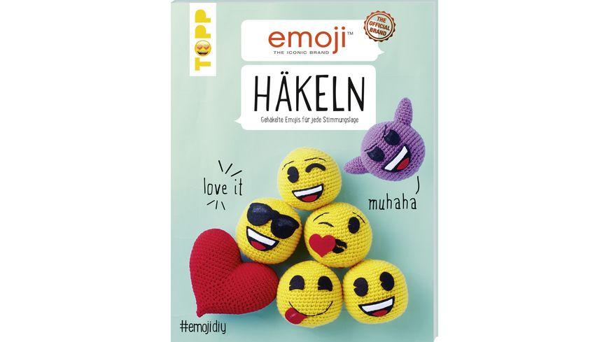 Buch frechverlag Emoji Haekeln