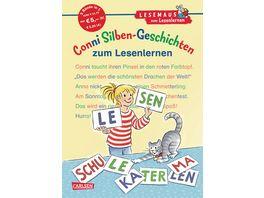 Buch CARLSEN LESEMAUS zum Lesenlernen Sammelbaende Conni Silben Geschichten zum Lesenlernen