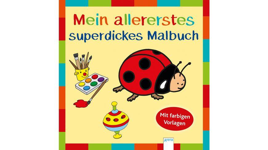 Buch ARENA Mein allererstes superdickes Malbuch