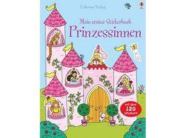 Buch Usborne Mein erstes Stickerbuch Prinzessinnen