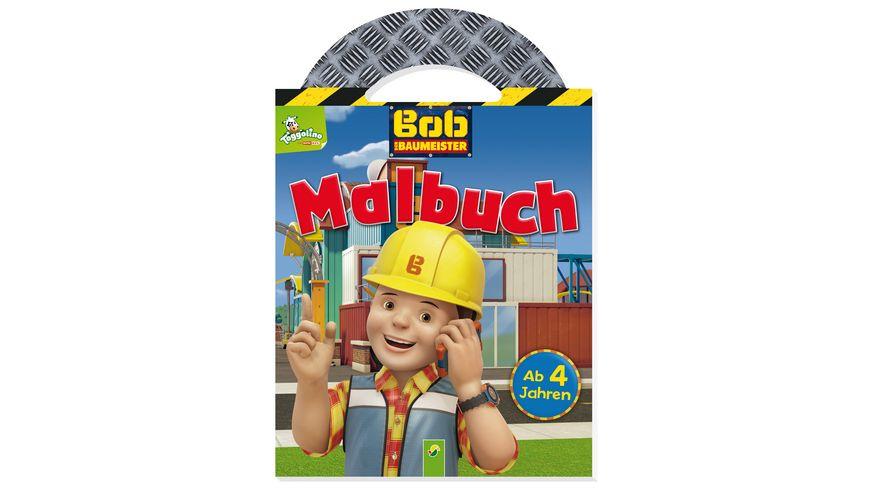 Buch SCHWAGER STEINLEIN Bob der Baumeister Malbuch mit Tragegriff