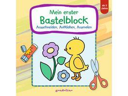 Buch gondolino Mein erster Bastelblock Kueken