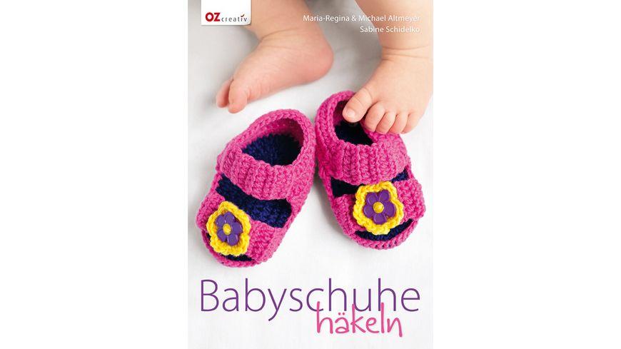 Buch Christophorus Verlag Babyschuhe haekeln