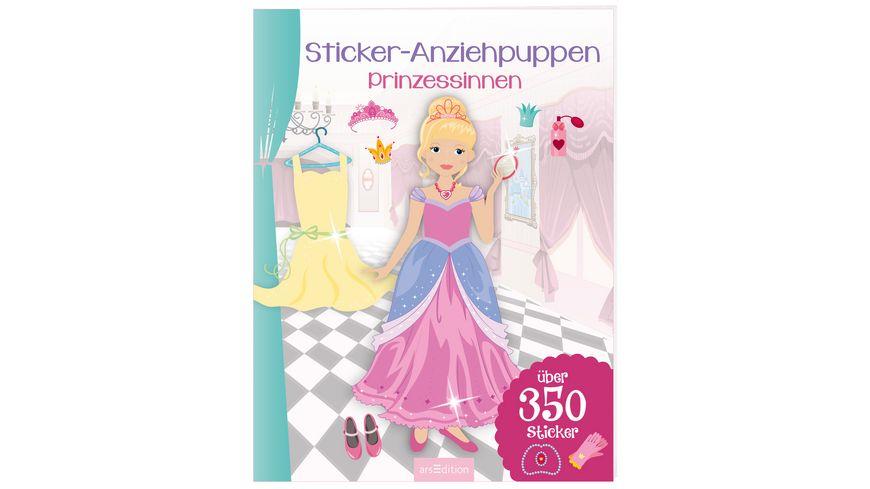 Sticker Anziehpuppen Prinzessinnen